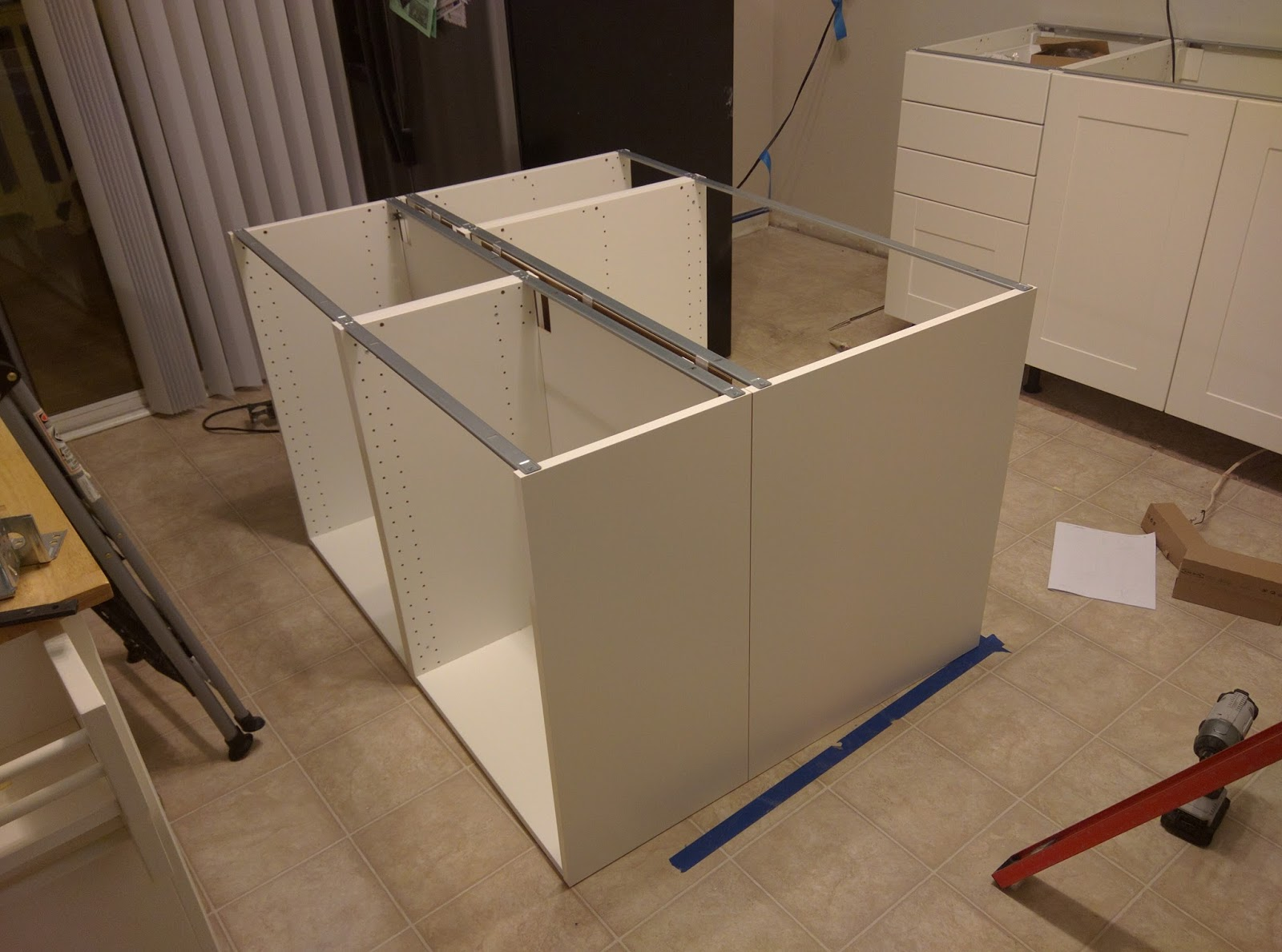 how to build a kitchen island with cabinets organization ideas diy technology and other random stuff remodel