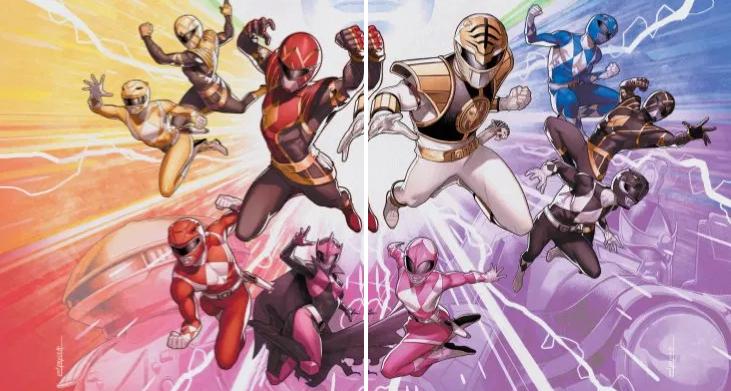 Power Rangers Comics: January 2021