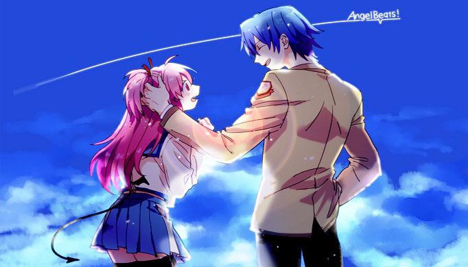 Karena Anime Ini Mengisahkan Tentang Kehidupan Setelah Kematian Dalam Angel Beats Kita Akan Mengenal Otonashi Seorang Siswa Yang Telah Mati Namun Tidak