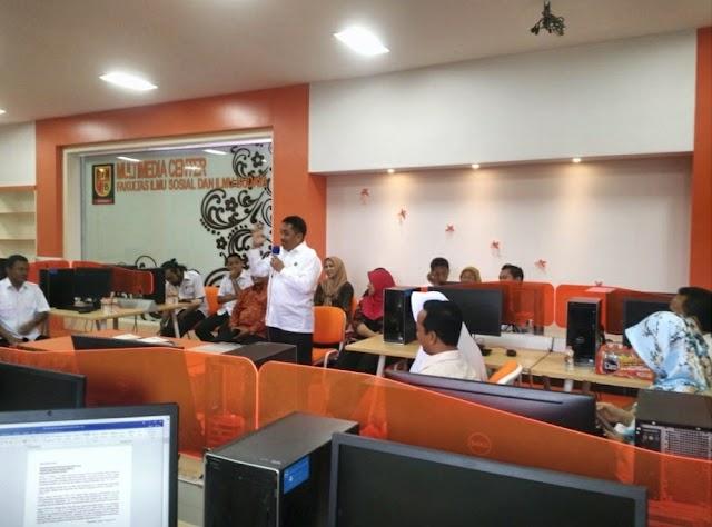Peresmian Ruang Multimedia dan Wifi Corner Fakultas Ilmu Sosial dan Ilmu Budaya Universitas Trunojoyo Madura