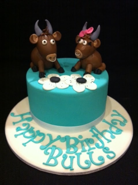 The Cupcake Stand Taurus Cake