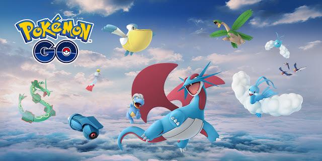 Pokémon GO anuncia la llegada de Rayquaza y otros pokémon, ¡nuevas incursiones!