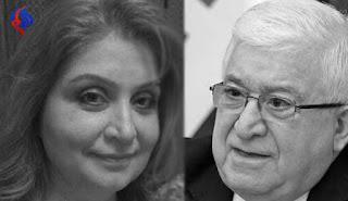 فضيحة : بنت الرئيس الكردي الخائن معصوم و مستشارته خائنه و تدعم انفصال كردستان  !
