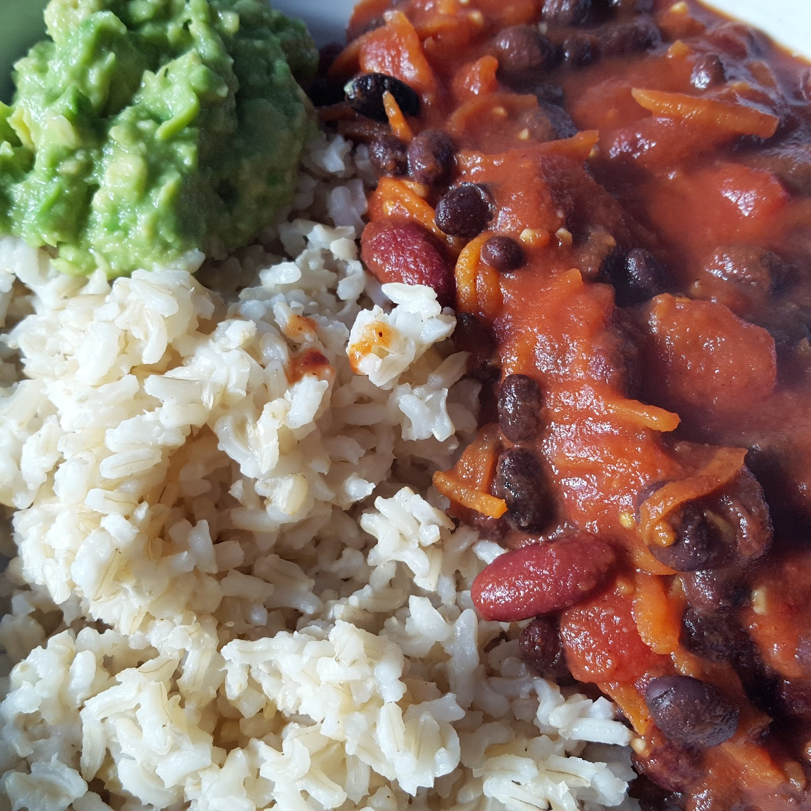 Black Bean Chilli Gluten Free Vegan