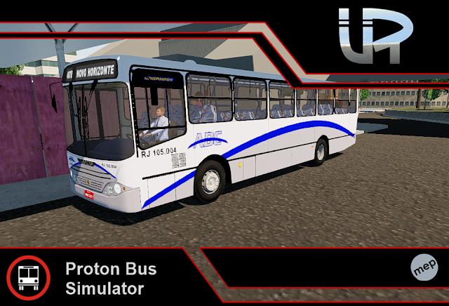 Skin Proton Bus Simulator - Urbanuss MB OF-1721 Viação ABC