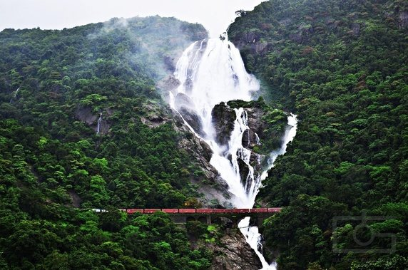 Dudhsagar Falls, the Milky falls in India