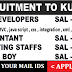GULF JOBS - RECRUITMENT TO KUWAIT