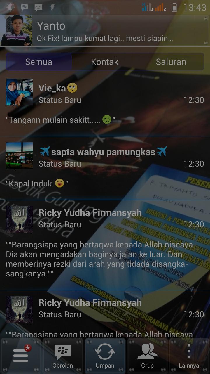 Download Kumpulan BBM Transparan Android APK Versi Terbaru 2015