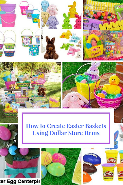How to Make Easter Baskets Using Dollar Store Items