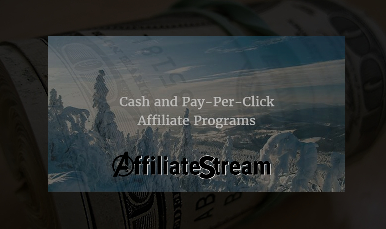 Cash and Pay-per-click Affiliate Programs