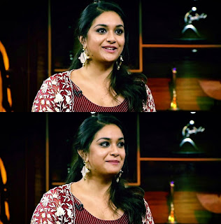 Keerthy Suresh with Cute and Lovely Smile in No1 Yaari 1