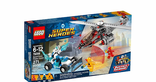 LEGO SET DATABASE LEGO 76098 Speed Force Freeze Pursuit