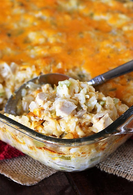 Baked Turkey Rice Casserole Image