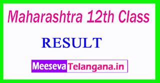 Maharashtra 12th Class Result 2017