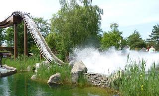 Parque Astérix, zona Bienvenidos al País Galo, París.