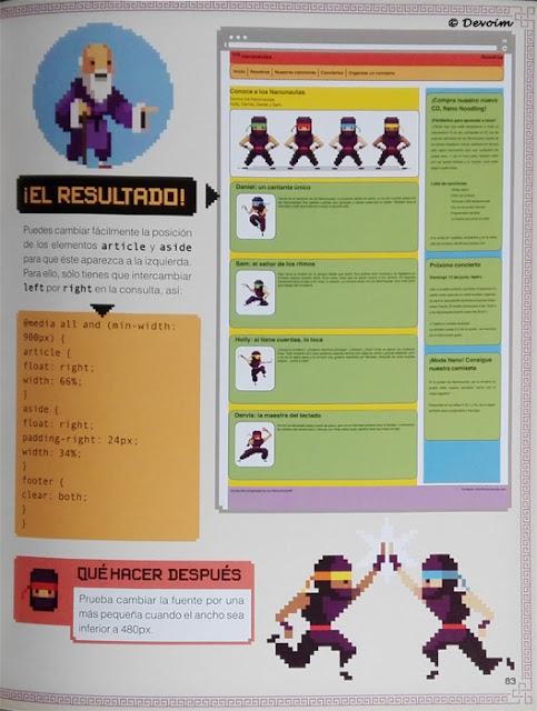 Web terminada en Aprende a programar [CoderDojo]