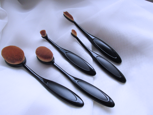 Foto 5 oval brushes do aliexpress