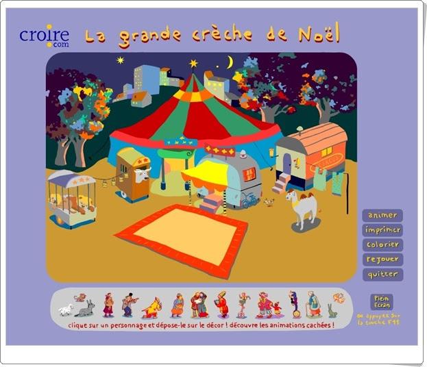 """""""El gran Belén de Navidad en el circo"""" (Juego de Navidad)"""