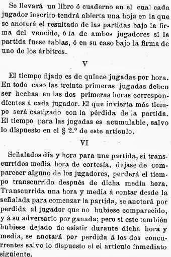 Recortes sobre Torneo de Ajedrez para el Campeonato de Cataluña disputado en 1905 en Barcelona (3)