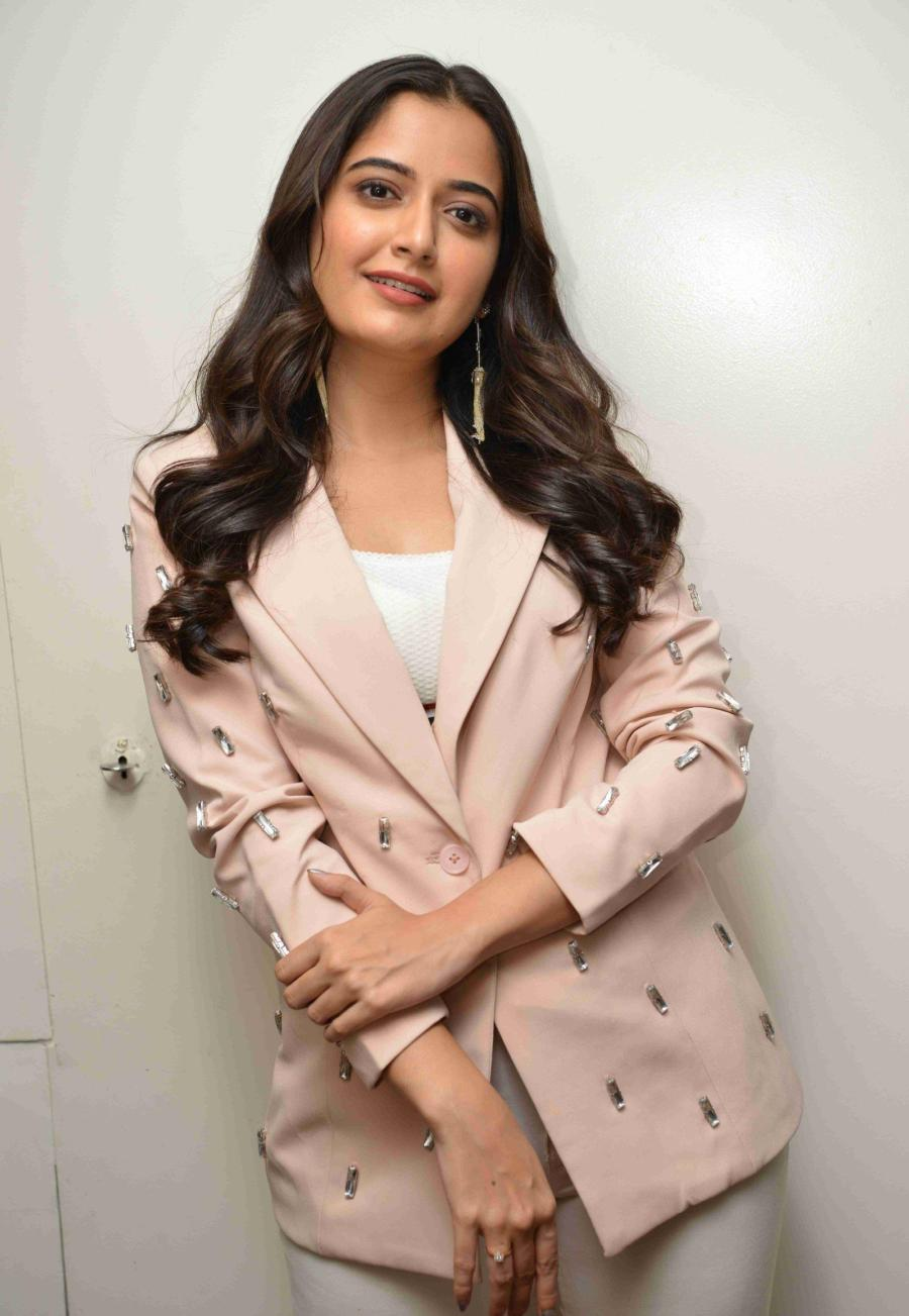 Ashika Ranganath at Garuda Kannada Film Trailer Launch