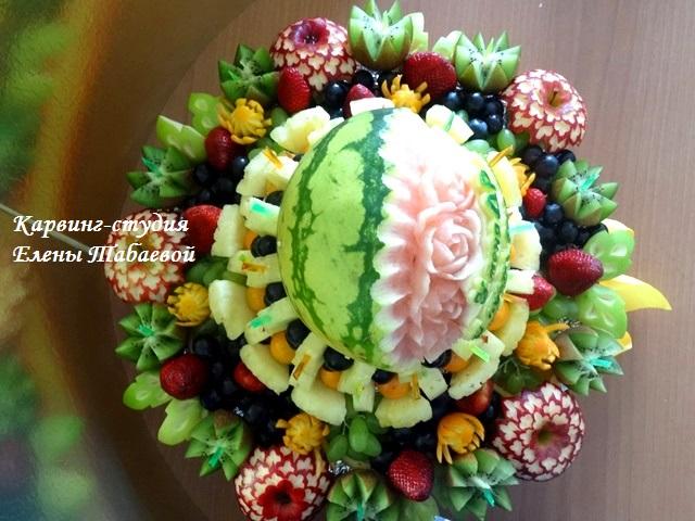 фруктовый букет с арбузом южно-сахалинск