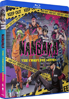 Nanbaka Complete Series Bluray