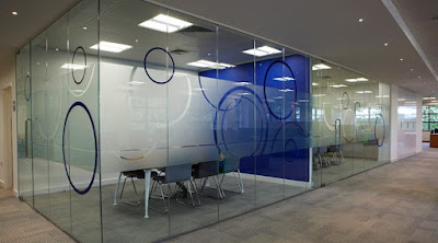 Printed Glass for a Partition