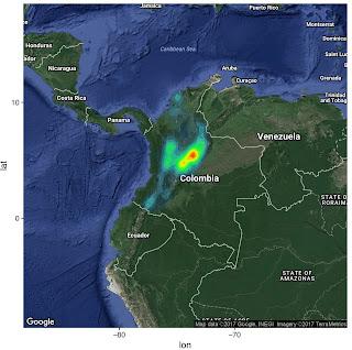 Hotspots de enfermedad en Colombia