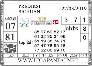 """Prediksi Togel """"SICHUAN"""" PANTAI4D 27 MARET 2019"""