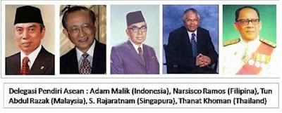 Pendiri ASEAN - pustakapengetahuan.com