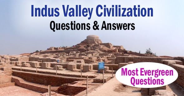 50+ Important Indus Valley Civilization MCQs Objective Questions Answers