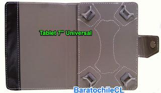 Estuche protector tablet 7 pulgadas Negro
