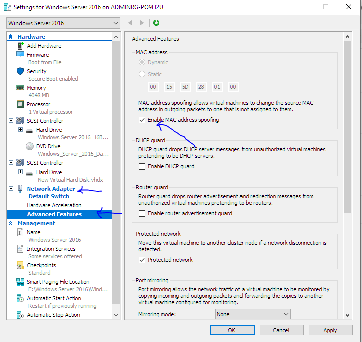 ReAndroid -The Droid Dog: Activating Hyper-V inside the Virtual Machine