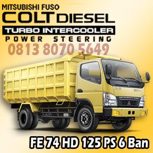 mitsubishi colt diesel canter fe74 HD
