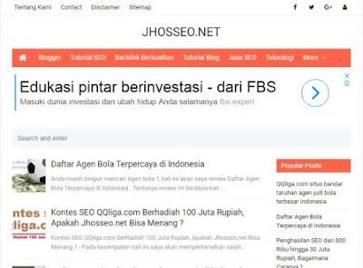 Artikel Jhosseo.net di Copas Oleh Blogger Abal-abal, Gimana Cara mengatasi duplicat content ?
