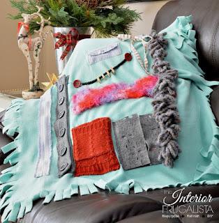 Dementia Fidget Blanket