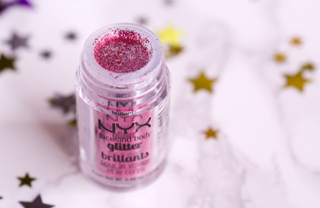 NYX Face and Body Glitter Brilliants «Red»