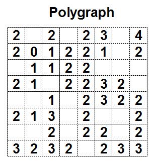 Logic Puzzles: Polygraph