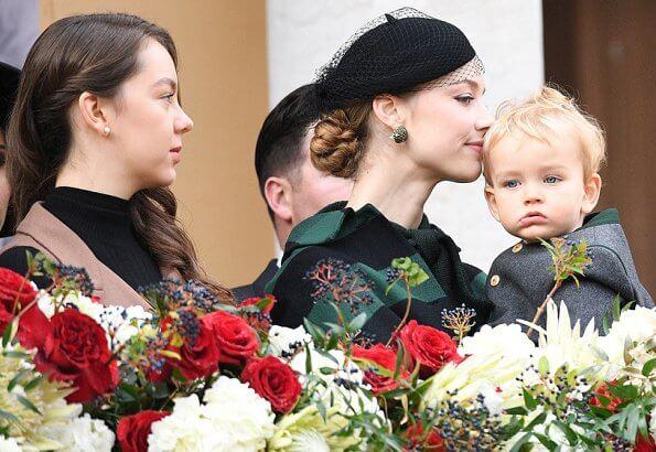 Princess Charlene, Princess Gabriella, Princess Caroline, Princess Stephanie, Beatrice Borromeo, Tatiana, Alexandra and Marie