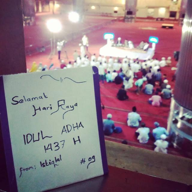 Moment Terbaik Idul Adha 1437 H