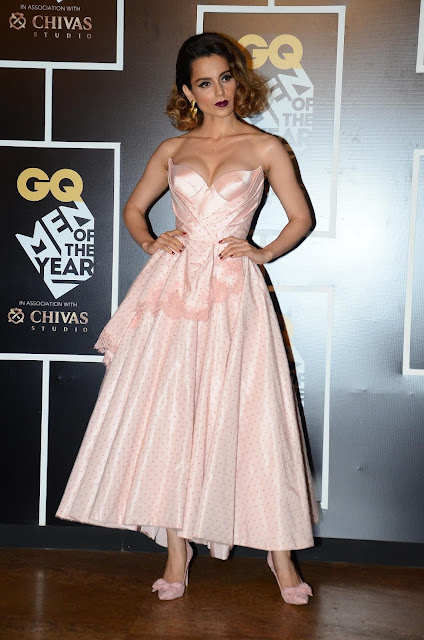 Kangana Ranaut, winner of 'Woman of the Year Award'at GQ Men of the Year Awards 2016