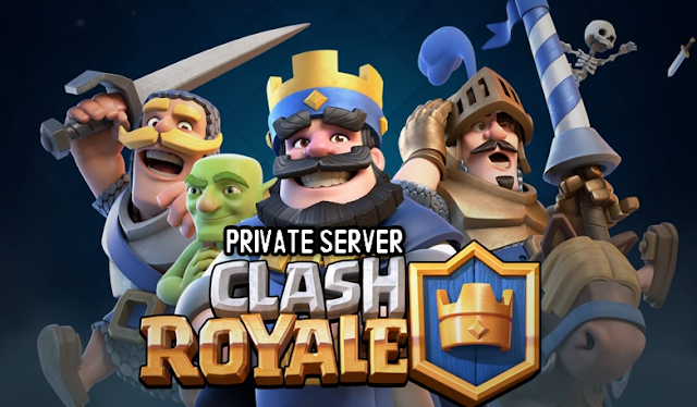 Download Clash Royale Mod Apk Private Server (Unlimited Gems/Crystals)