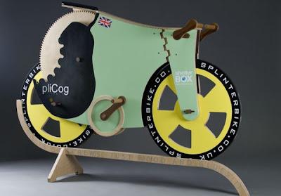 bicicleta diseño extraordinario
