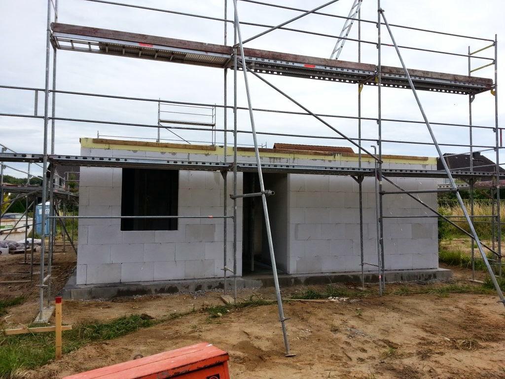 Bautagebuch Team Massivhaus 2014 Die Betondecke Ist Da Vorbereitung Furs Richtfest Ausblick