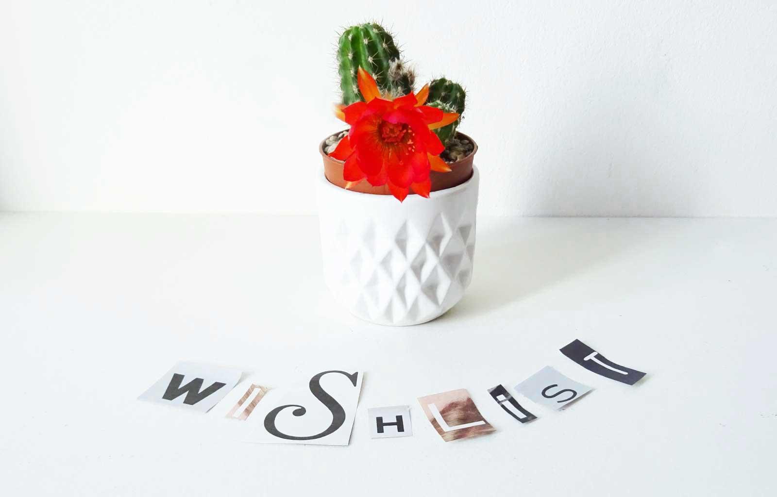 Wishlist soins naturels zéro déchets