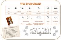 Shahadah Learning Poster