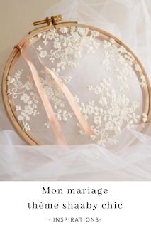 inspirations et idées pour un mariage thème shaaby chic blog mariage unjourmonprinceviendra26.com