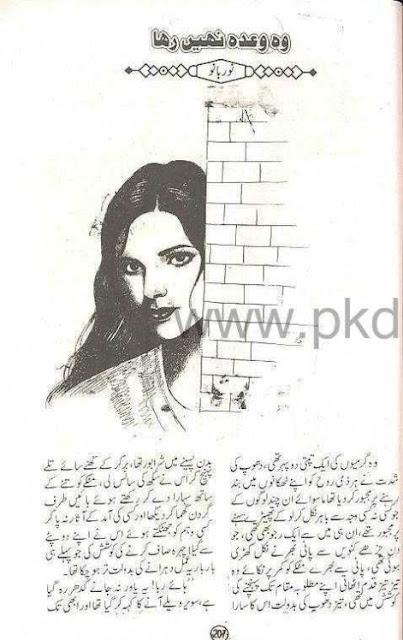 Wo wahda nahe raha novel by Kanwal Riaz pdf