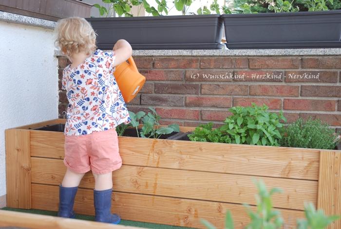 Wunschkind Herzkind Nervkind Eine Bauanleitung Das Kinder Hochbeet