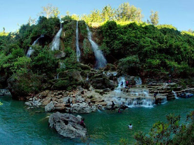 "Sri Gethuk Waterfall, "" Grand Canyon"" in Yogyakarta, javanese grand canyon, family vacation, vacation, waterfall, beautiful view"